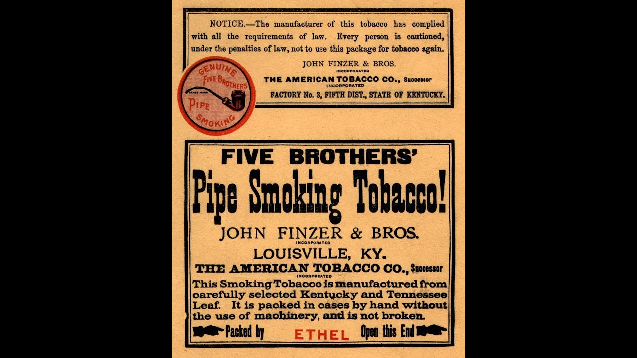 Five Brothers Pipe Tobacco From 1948