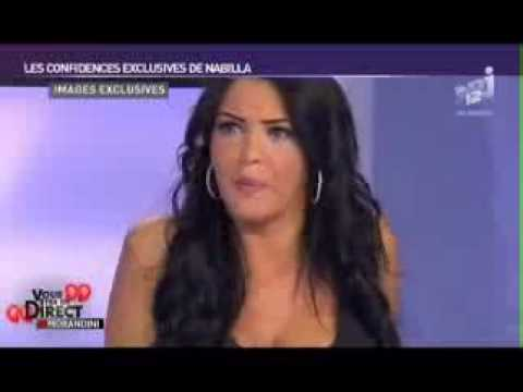 Nabilla bourrée montre ses seins chez Morandini from YouTube · Duration:  4 minutes 56 seconds