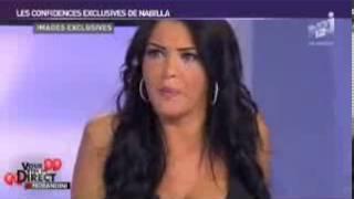 Nabilla bourrée montre ses seins chez Morandini