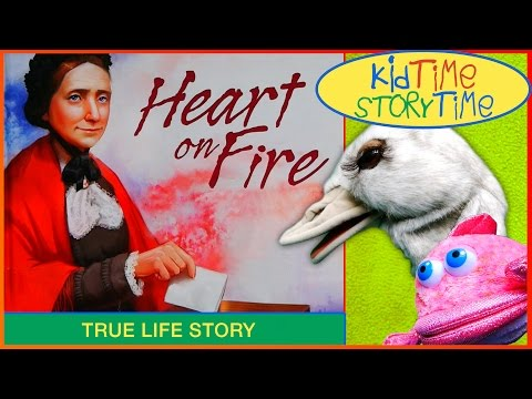 Heart On Fire: Susan B. Anthony Votes for President READ ALOUD!