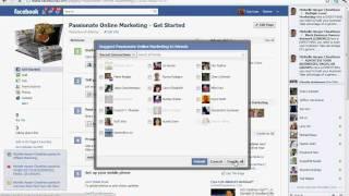 Facebook Invite All - Google Extension