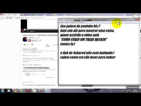 Como Baixar Video Aula COMO CRIAR TRADE HACKER: LINK DA RADIO  http:--radiomegax.webnode.com-   LINK DO VIDEO http:--www.youtube.com-watch?v=z5KKewQv6sY