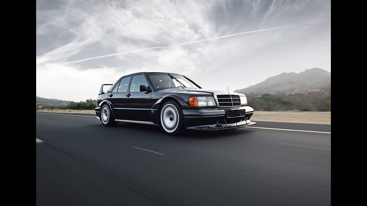 1990 mercedes-benz 190e 2.5-16 evolution ii - youtube