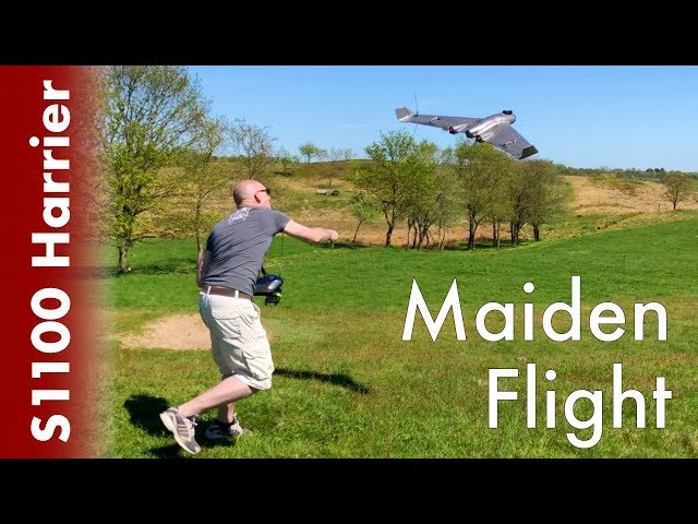 Reptile Harrier S1100  - Maiden flight  (twin engine) #03