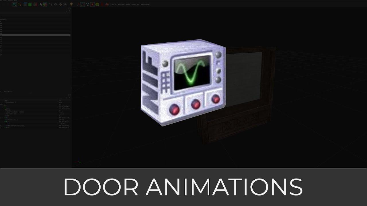 NifSkope (Door Animations)