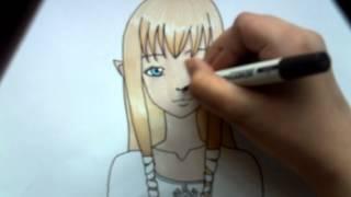 Drawing Zelda (Skyward Sword)