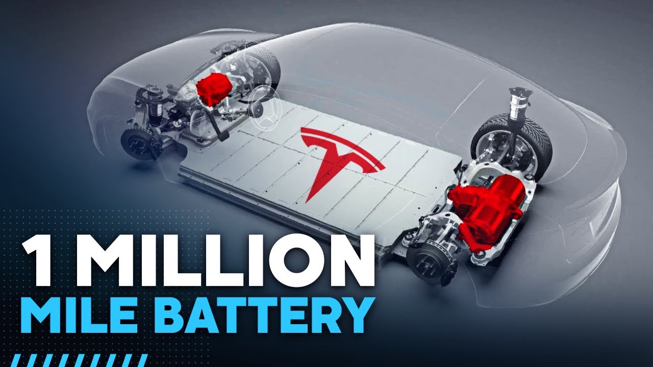 Tesla's 1,000,000 Mile Battery Is A Game Changer