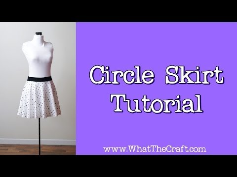 How To Sew A Circle Skirt - DiY Fashion
