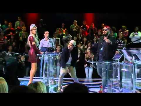 TV Fama 08/08/2014 - Ivo Mozart E Bruna Michels Animam O 'Mega Senha'