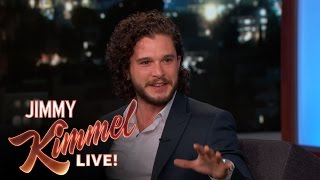 Kit Harington Got Worried at a Wedding