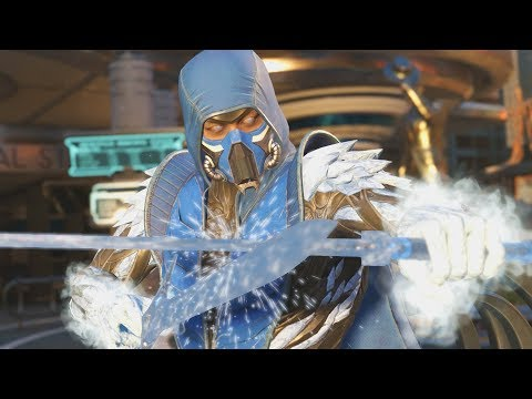 Injustice 2 - Sub Zero All Intro/Interaction Dialogues