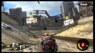 Motorstorm: Apocalypse  - Demo -  Motorcycle gameplay