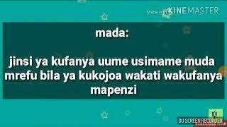 JINSI YA KUFANYA UUME/UBOO USIMAME KWA MUDA MREFU KTK TENDO LA NDOA
