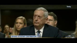 General James 'Mad Dog' Mattis mops the floor with Senator Kirsten Gillibrand