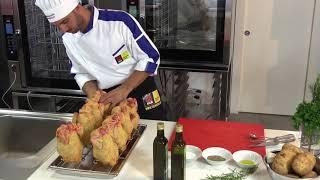Куры гриль в пароконвектомате Tecnoeka EKF 1111 TC. ПРИС - оборудование для ресторанов