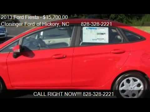 2013 Ford Fiesta SE - for sale in Hickory, NC 28602