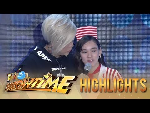 Jackque asks mommy Rosario to have Vice Ganda's surname | It's Showtime KapareWho