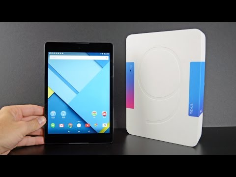 Google Nexus 9 : Unboxing & Review