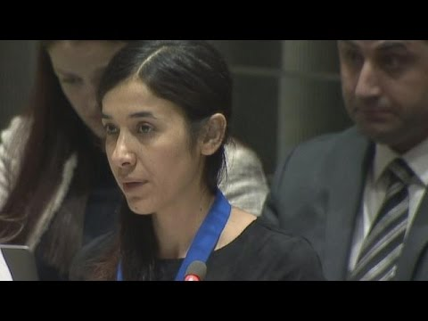 Nadia Murad, Yazidi woman and survivor of...