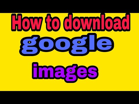 How To Download Google Images In Your Android Phone/