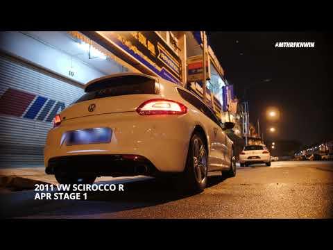 #startupmonday: Volkswagen Scirocco R w/ APR Stage 1 | #MTHRFKNWIN