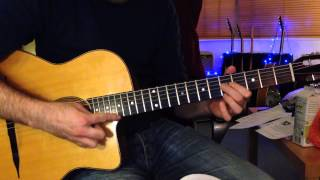 Django Reinhardt - Nuages (Django's solo and Grappelli's Melody - note for note)