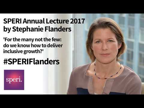 SPERI Annual Lecture: Stephanie Flanders