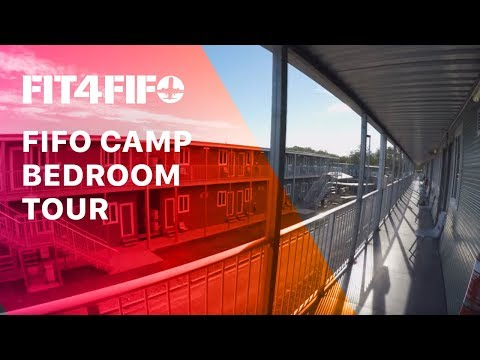 Ep.#3 FIFO Camp Bedroom (Donga) Tour
