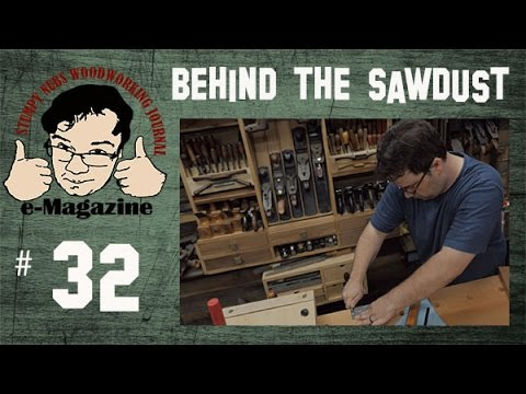#32- Stumpy Nubs' Behind the Sawdust Woodworking Vlog