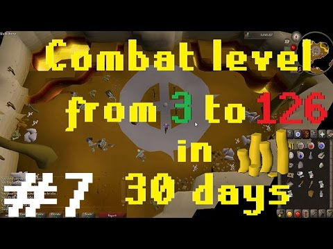 OSRS] Combat Level 3 - 126 in 30 days! - Achievements