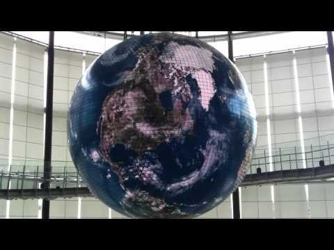 LED Globe Miraikan Tokyo