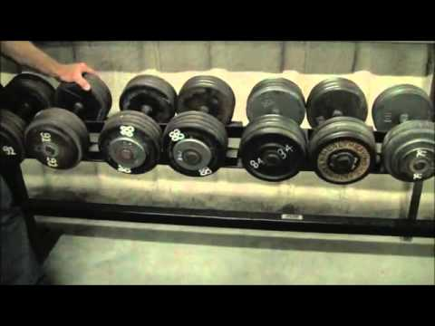 Platform The Dumbbell Rack Youtube