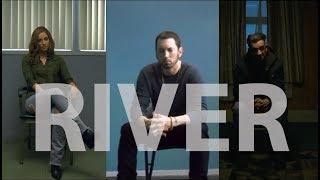 Eminem ft. Ed Sheeran - River - перевод + реакция на клип