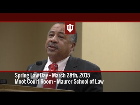 IU Maurer - Spring Law Day - Moot Court Room Morning Session