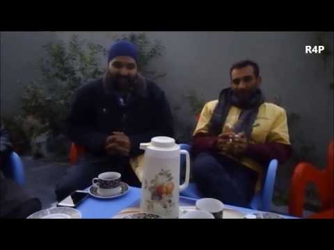 Indian travellers interviewed in Pakistan