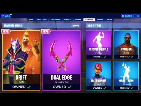Fortnite Is Selling BATTLE PASS SKINS (FINALLY)