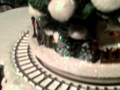 Our New Thomas Kinkade Wonderland Express Christmas Tree Youtube