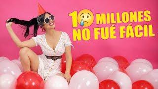 NO ES FÁCIL, PERO SE PUEDE! CELEBRANDO LOS 10 MILLONES ♥ SandraCiresArt