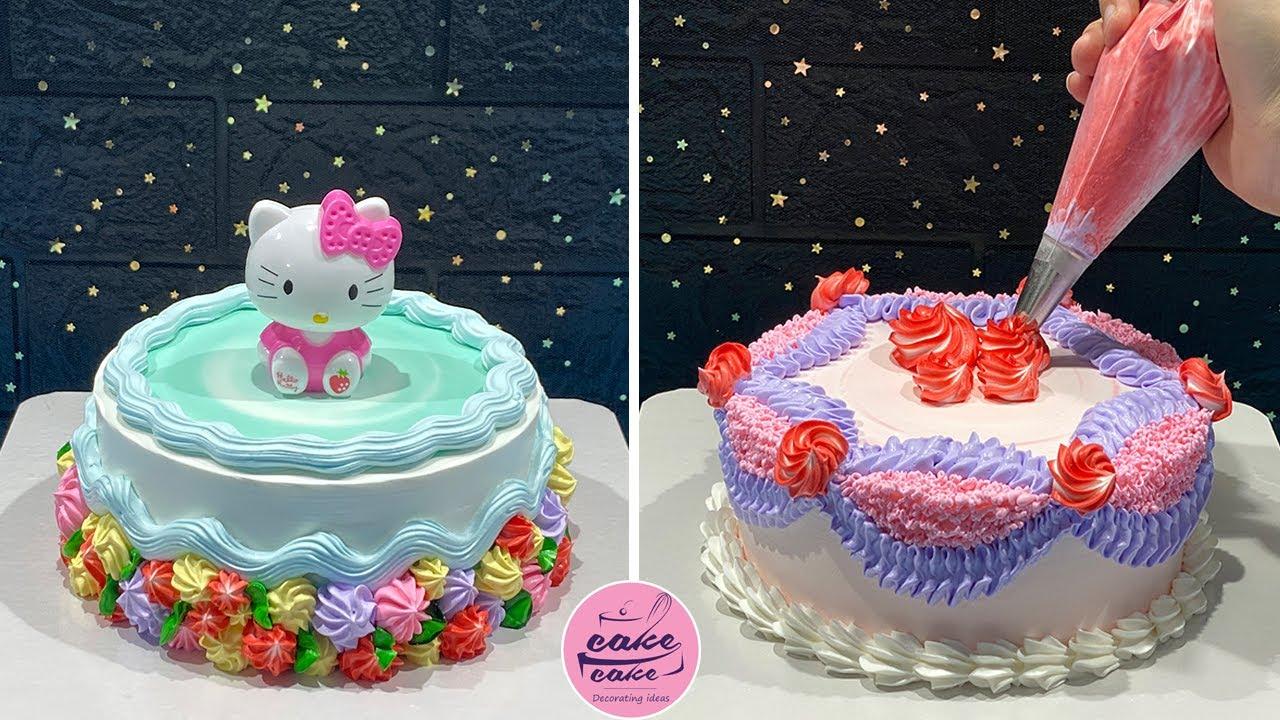 How To Make Cake Decorating Tutorial | Homemade Cake Decorate Compilation | Making Cake
