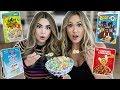 Trying Weird Cereal Flavors w/ LaurDIY!