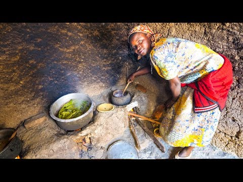 Village Food in Central Africa - RWANDAN FOOD and AMAZING DA