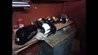 видео Лодочный мотор Хайди 3.5
