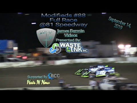 Modifieds #88, Full Race, 81 Speedway, 09/14/19