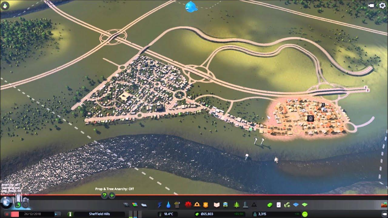 Cities: Skylines - UK Style City - EP3 - New Neighbourhood ... on