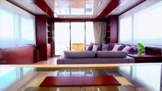 Monte Fino E85 ecHo Modern Green Long Range Explorer Yacht