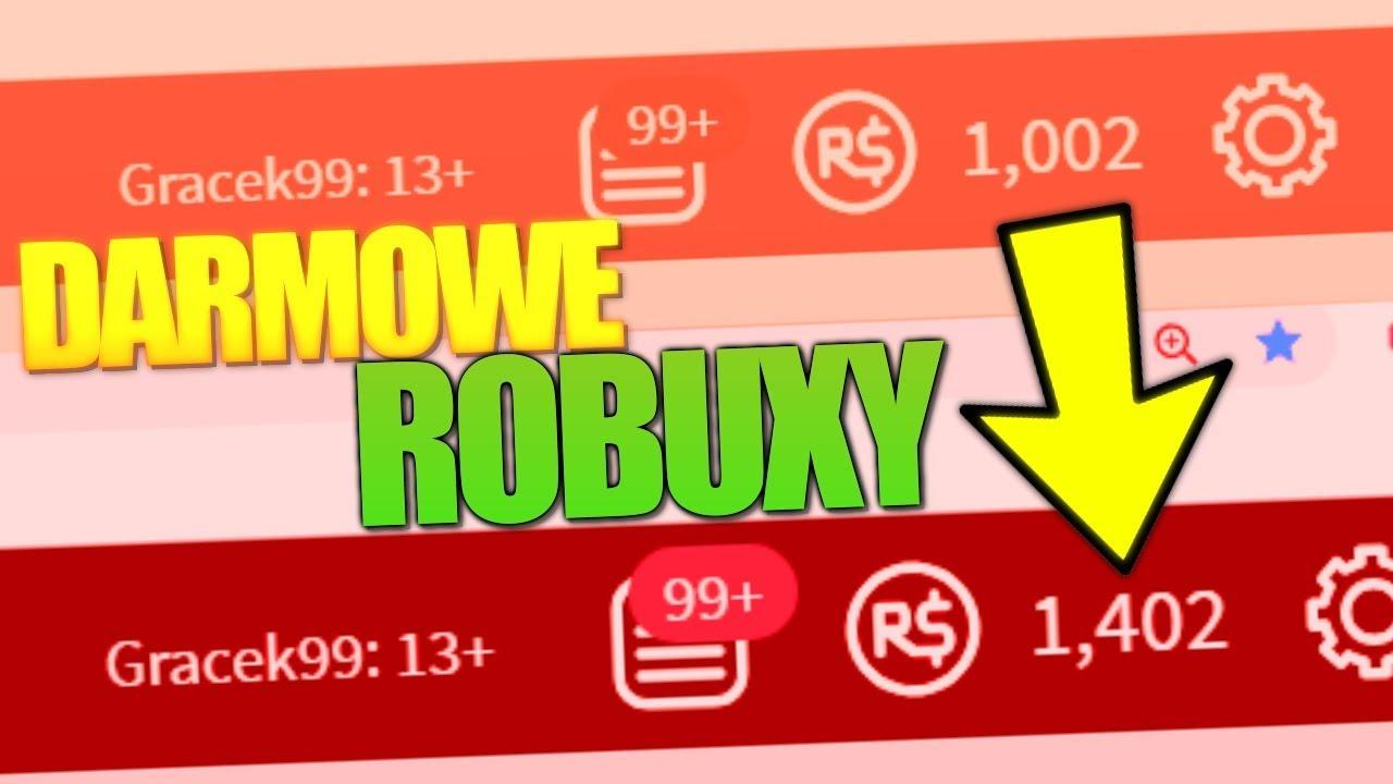 Robuxy D Roblox Sposob Na Darmowe Robuxy W Roblox Dziala Youtube