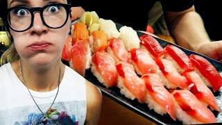 Cheapest Sushi in the World [Tokyo Daily Vlog #46]