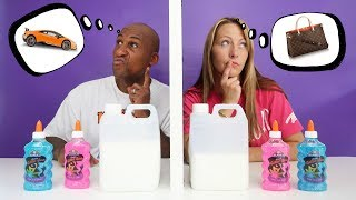 TWIN TELEPATHY SLIME CHALLENGE!! Parents Edition