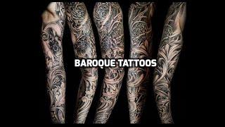 Barroque Tattoos HD - Barroque Tattoo Ideas