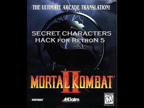 Mortal Kombat II Super NES Secret Characters Hack on RetroN 5